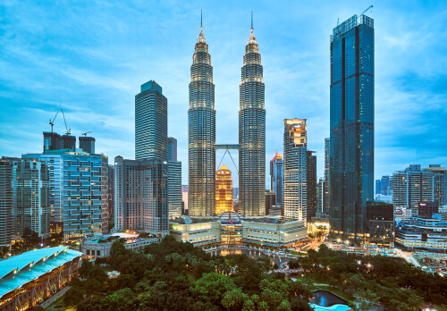 Petronas Twin Towers - image by Andrey Paltzev/shutterstock.com