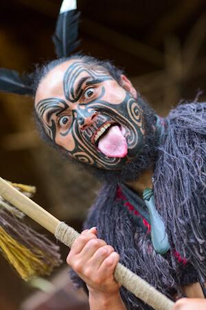 Maori greeting ritual - image by Yevgen Belich/shutterstock.com