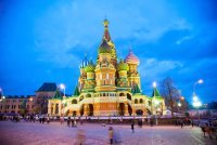 Russia Saint Basil Cathedral