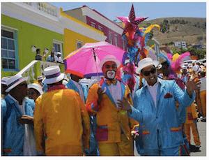 Cape Town minstrels