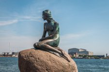 Little Mermaid in Copenhagen - image by Pocholo Calapre/shutterstock.com
