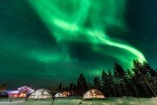 Finland - Aurora Borealis - Finland Facts for Kids