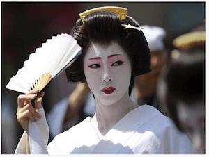 Japanese geisha - image by dpa