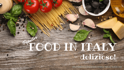 Food Facts for Kids: Italy