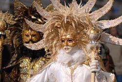 Carnival masks in Venice - image by Anja Johnson