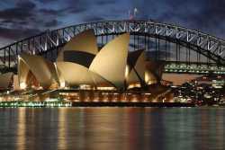Australia Sydney opera at night - src50/shutterstock.com