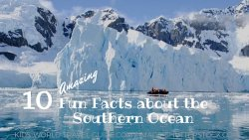Southern Ocean icebergs