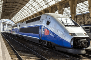France Travel Guide: Take the TGV high speed train in Nice - image by shutter stock