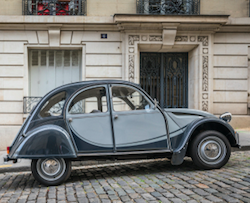 2CV Citroën car by StevenK/shutterstock