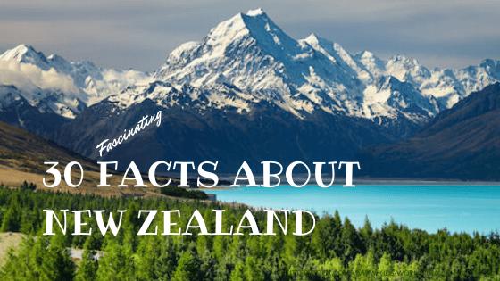 30 Facts about New Zealand - Mount Aoraki