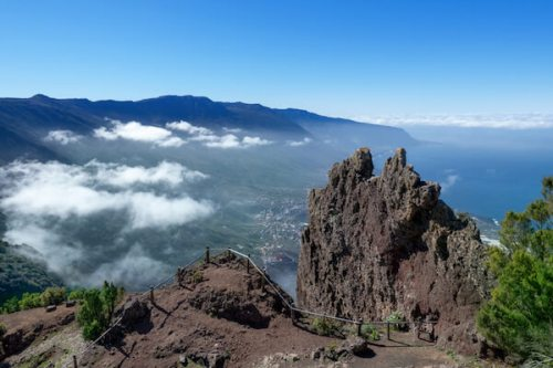El Hierro landscape - the smallest of the Canary Islands