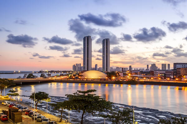Recife in Brazil