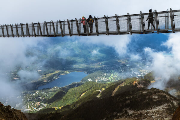 Cloudraker Skybridge in Whistler
