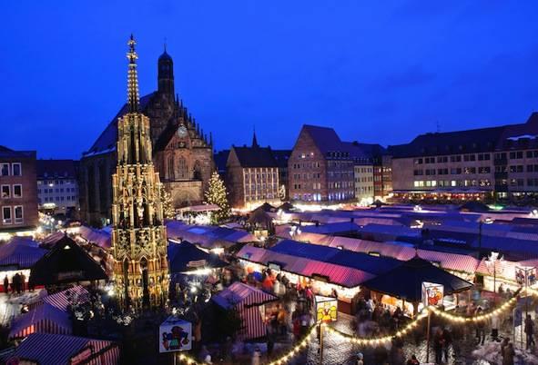 German Christmas Market in Nuremberg