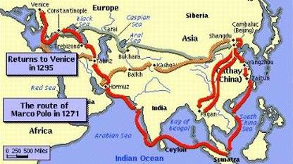 Marco Polo's Journey by italophiles.com