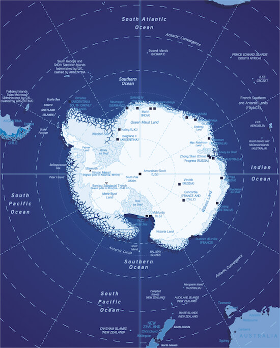 Degree Of The Ocean And Efficient N: Southern Ocean Facts For Kids