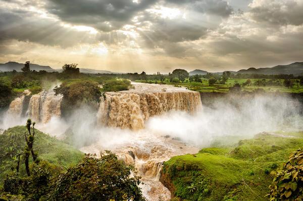 Blue Nile Falls - images: shutterstock.com