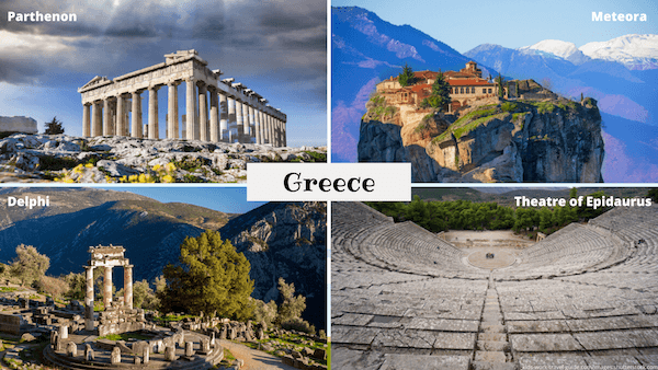 Monuments in Greece - Kidsworldtravels