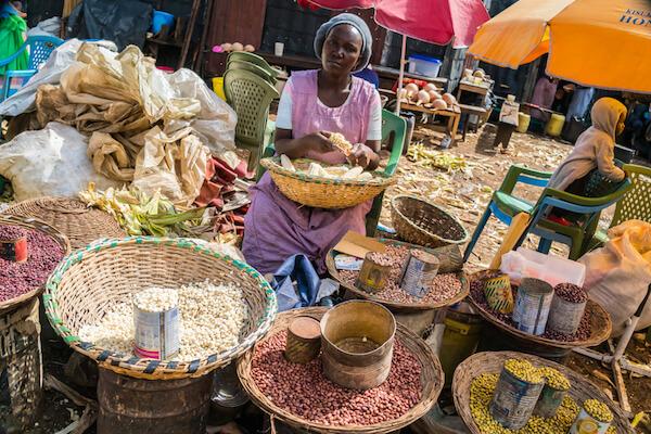 Market in Kisumu/Kenya - image by Space Krill/shutterstock.com