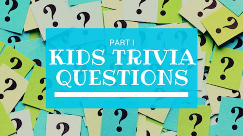 image about Printable Trivia Questions for Kids referred to as Young children Trivia Queries Quiz for Youngsters Quiz Concerns