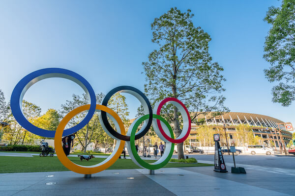 Tokyo Olympics Image by Chaay_Tee/shutterstock.com