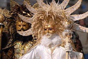 Carnival masks in Venice - image by Anja Johnson