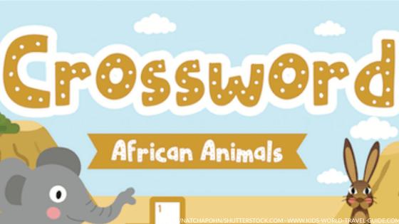 african animals crossword - image by Natchapohn/shutterstock.com