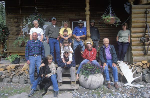 Family in Alaska - three generations - image by Joseph Sohm/shutterstock.com