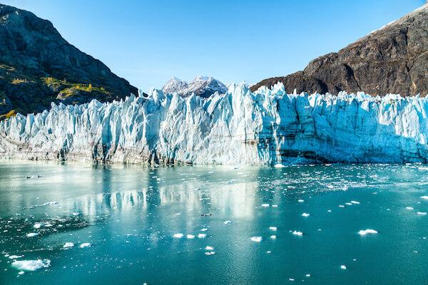 John Hopkins Glacier in Alaska