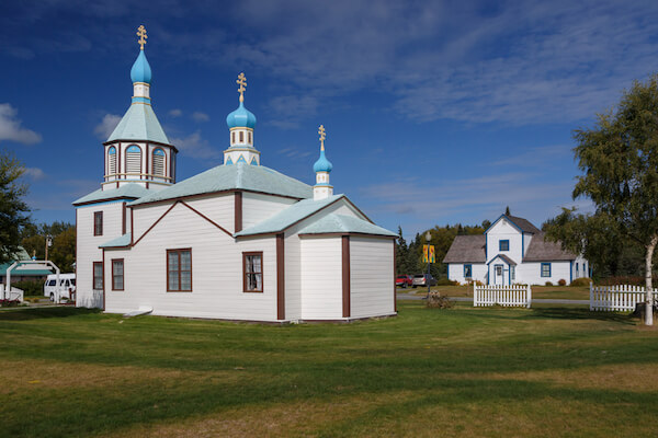 Russian church in Kenai/Alaska