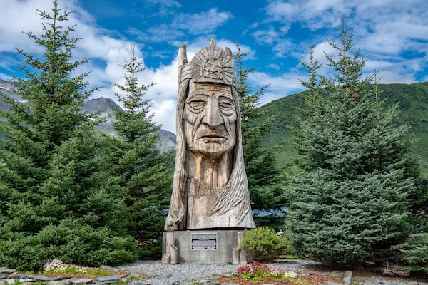 Alaska Trail of the Whispering Giants - Totem - image by melissamn / Shutterstock.com