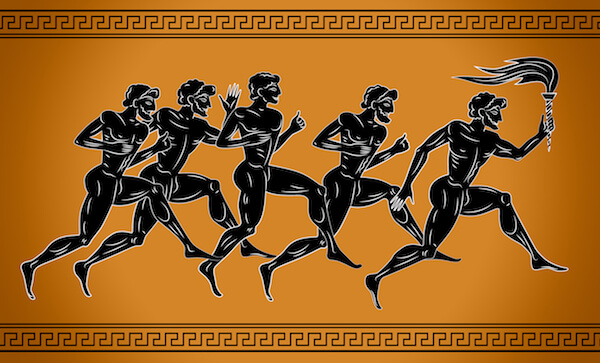 Ancient Olympic Games - image by Sebos/shutterstock