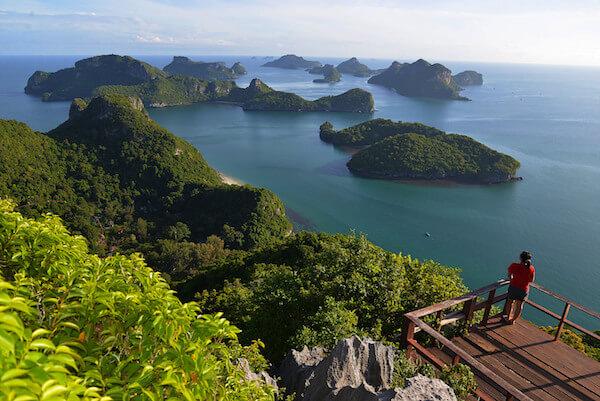 Ang Thong Marine Reserve Thailand