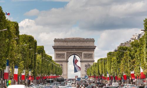 France attractions landmarks in france for kids for Parigi champ elisee