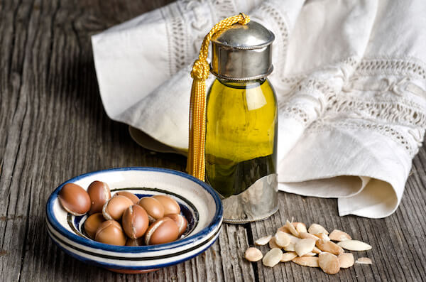Moroccan Argan oil is used as a beauty oil in skincare and haircare