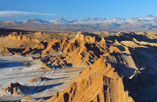 Moon Valley in the Atacama Desert