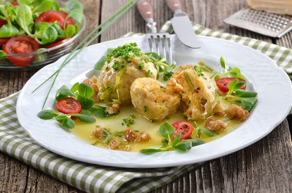Semmelknoedel - Austrian bread dumplings
