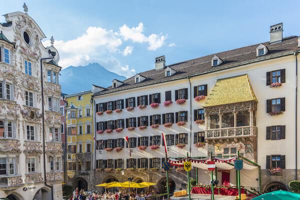 Goldenes Dachl in Innsbruck/Austria