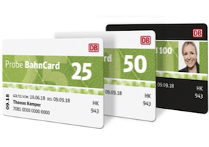 German Bahncards
