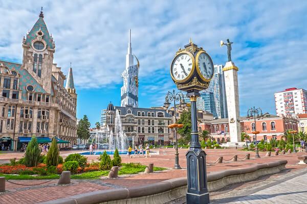 Batumi, Georgia cityscape - image by shutterstock