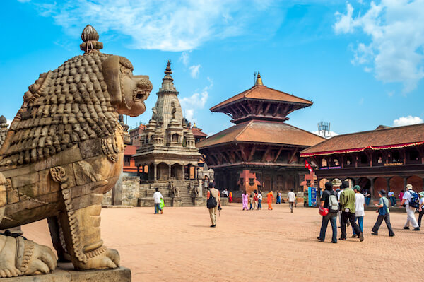 Bhaktapur in Nepal: Durbar Square and the Royal Palace