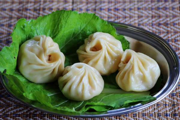 Momos: Bhutanese dumplings