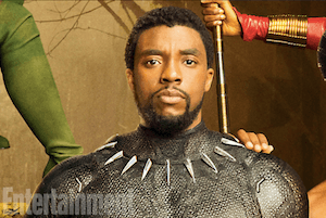 Black Panther movie - image snippet - image by Entertainment weekly