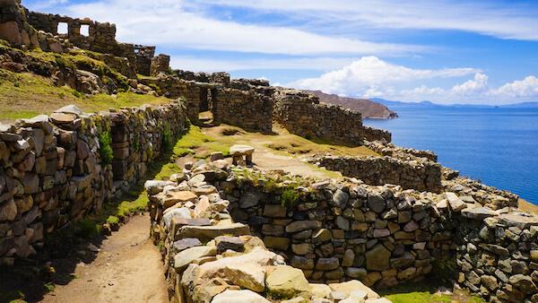 There are over 80 ruins on Isla del Sol/Bolivia