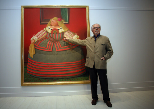 Painter Fernando Botero - image by Prometheus72/shutterstock.com
