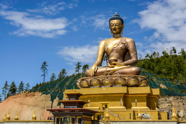 Buddha Dordenma is one of Bhutan's main attractions