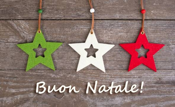 Buon Natale / Merry Christmas in Italian