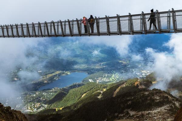 Cloudraker Skybridge in Whistler