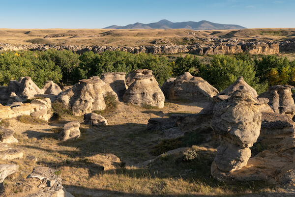 Canada Writing on Stone National Park