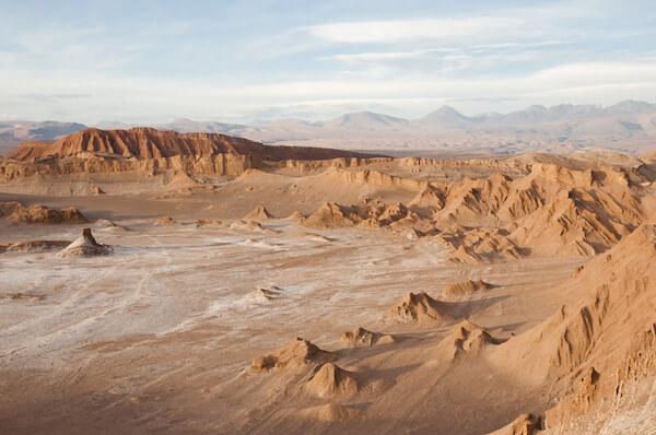 Atacama's moon valley